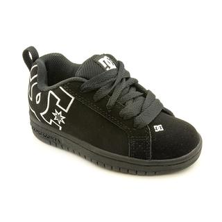DC Boy (Youth) 'Court Graffik' Leather Athletic Shoe