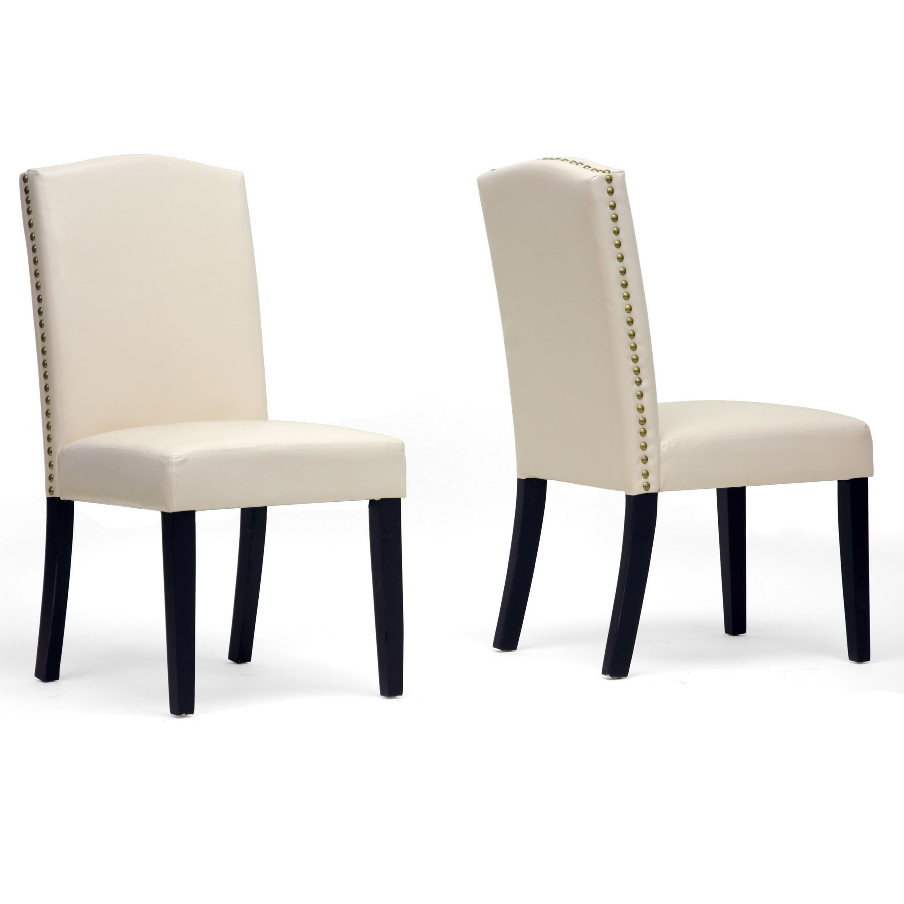 Baxton Studio Trullinger Modern Dining Chairs (Set of 2)
