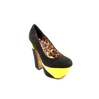 Betsey Johnson Women's 'Foxeyy' Regular Suede Dress Shoes