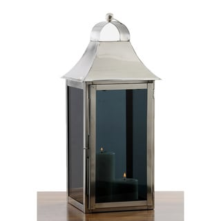 Smoky Glass Square Lantern Medium