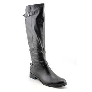 Alfani Women's 'Mable' Black Faux Leather Boots