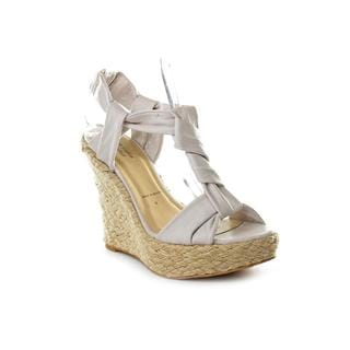 Joseph Griffin L.A. Collection Women's 'Mam' Ivory Leather Sandals