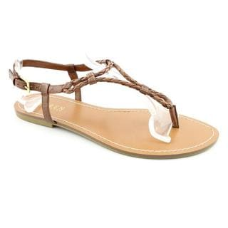 Lauren Ralph Lauren Women's 'Alexa' Leather Sandals (Size 9.5 )