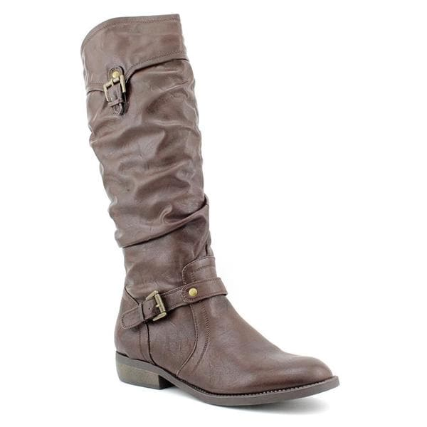 White Mountain Women's 'Legend' Faux Leather Boots (Size 7.5 )