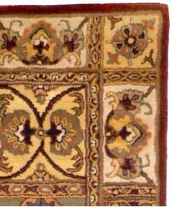 Handmade Classic Bakhtieri Multicolored Wool Rug (2' x 3')