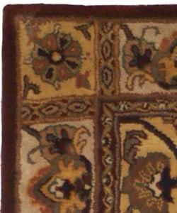 Safavieh Handmade Classic Bakhtieri Multicolored Wool Rug (4' x 6')