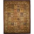 Safavieh Handmade Classic Bakhtieri Multicolored Wool Rug (8'3 x 11')