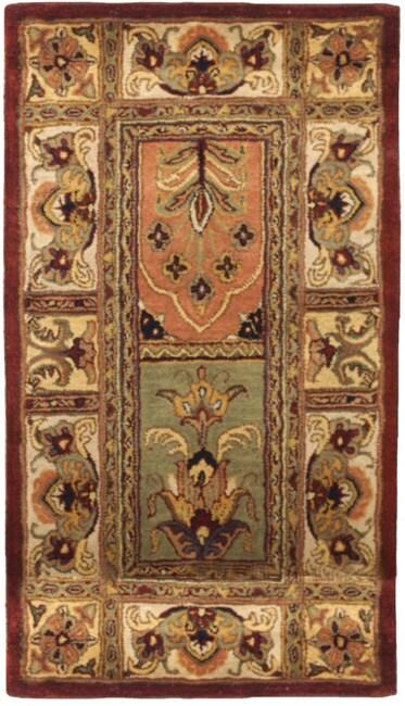 Safavieh Handmade Classic Bakhtieri Multicolored Wool Rug (2'3 x 4')