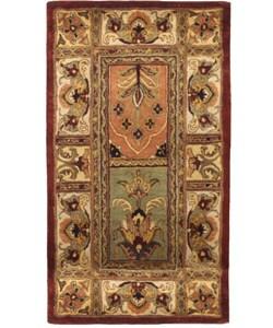 Handmade Classic Bakhtieri Multicolored Wool Rug (2'3 x 4')