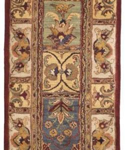 Safavieh Handmade Classic Bakhtieri Multicolored Wool Rug (2'3 x 10')