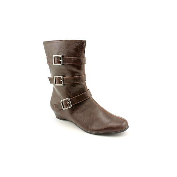 Aerosoles Women's 'Sot N Pepper' Brown Man-Made Boots