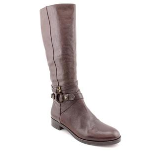 Via Spiga Women's 'Gabrielle' Dark Brown Leather Boots
