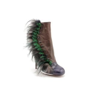 Fendi Women's '8t418-f50' Leather Boots