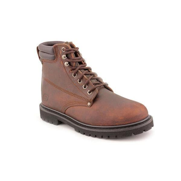 Skechers Work Men's 'Foreman - Storm' Leather Boots