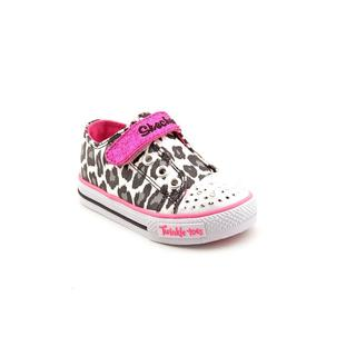 Twinkle Toes By Skechers Girl (Toddler) 'Shuffles - Lil Wild' Basic Textile Athletic Shoe