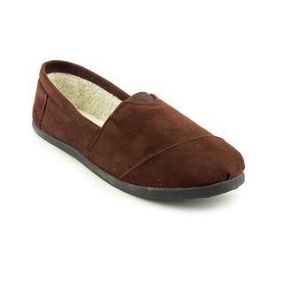 Sag Harbor Women's Brown 'Sag Barbara Fur' Fabric Casual Shoes