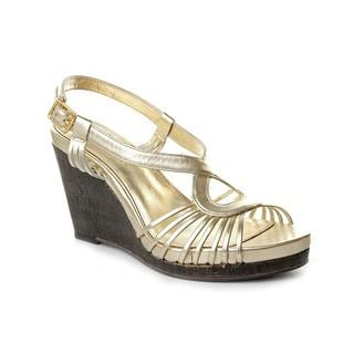 Lauren Ralph Lauren Women's 'Perrie' Leather Sandals (Size 10 )