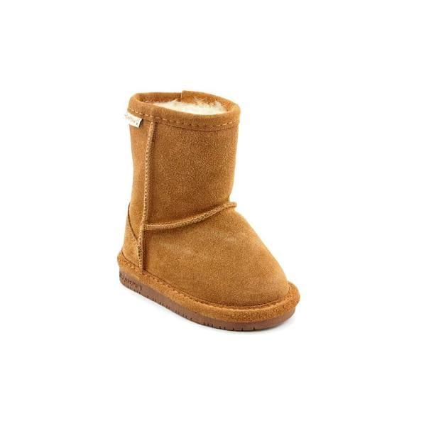 Bearpaw Girl (Toddler) 'Emma' Regular Suede Boots