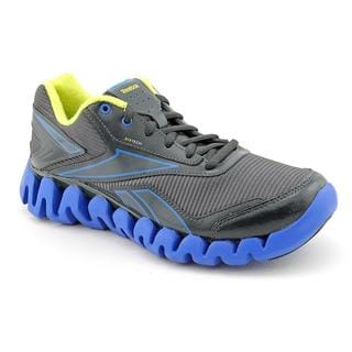 Reebok Boy (Youth) 'ZigActivate' Gray Synthetic Athletic Shoe