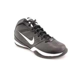 Nike Boy (Youth) 'Quick Handle (GS/PS)' Black Synthetic Athletic Shoe