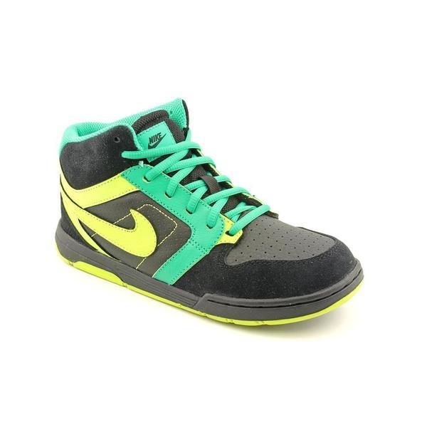 Nike Boy (Youth) 'Mogan Mid 3' Man-Made Black Athletic Shoe