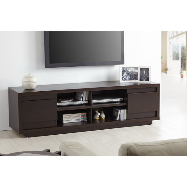 furniture of america irvine contemporary 70 inch entertainment tv console overstock shopping. Black Bedroom Furniture Sets. Home Design Ideas