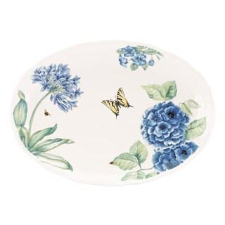 Lenox Butterfly Meadow Blue 16-inch Oval Platter