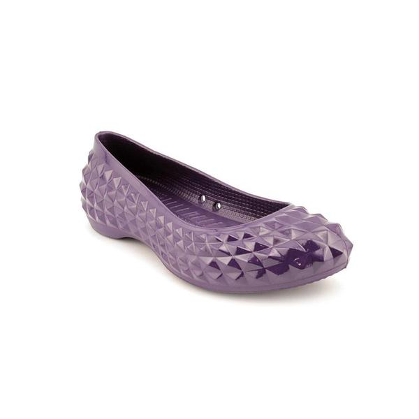 Crocs Women's 'Super Molded' Synthetic Casual Shoes - Wide (Size 9)