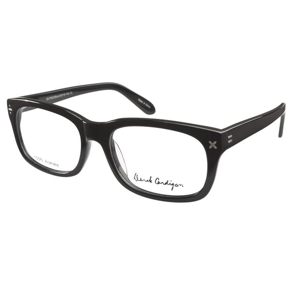 Eye Unisex Derek Cardigan 7003 Black Prescription Eyeglasses