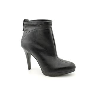 Nine West Women's 'Be There' Black Faux-Leather Boots