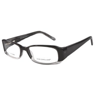 Kam Dhillon 3005 Black/ Clear Eyeglass Frames