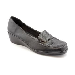 A2 By Aerosoles Women's 'Tempting' Black Faux Leather Dress Shoes