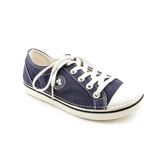 Crocs Women's 'Hover Lace-Up' Canvas Casual Shoes - Wide (Size 4 )