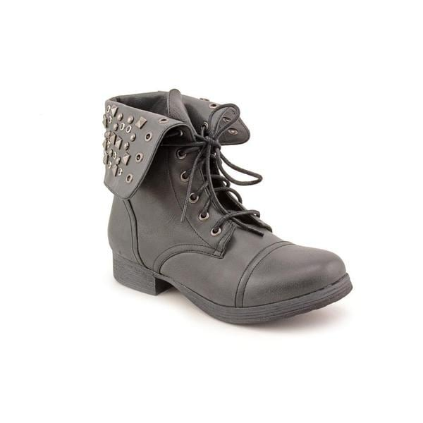 Pink & Pepper Women's 'Conquest' Man-Made Boots