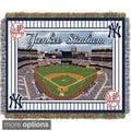 MLB Stadium Woven Tapestry Throw (Multiple team option)