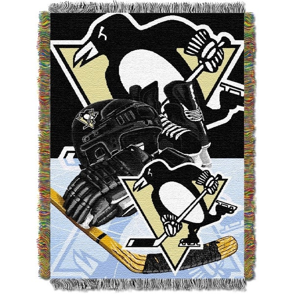 NHL 051 Woven Tapestry Throw 12153089