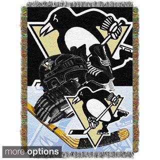 NHL Woven Tapestry Throw ( Multi Team Options Available)