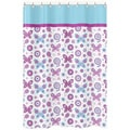 Spring Garden Kids Fabric Shower Curtain