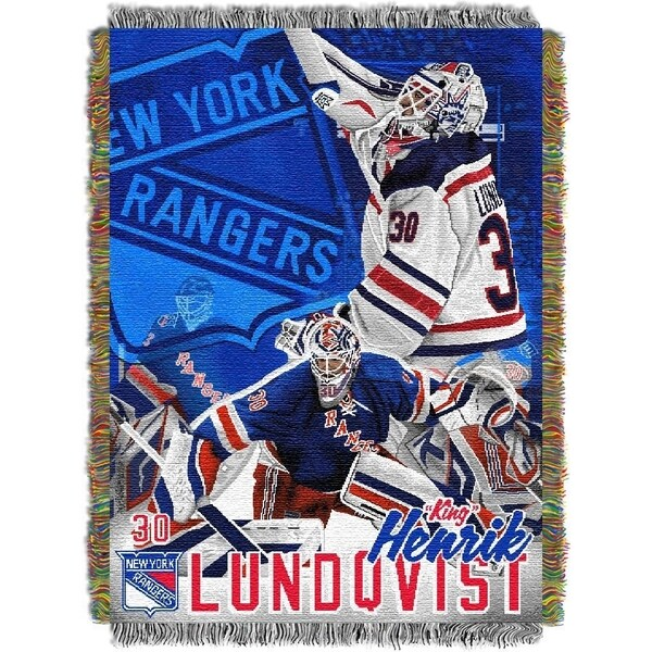 NHL Player Woven Tapestry Throw