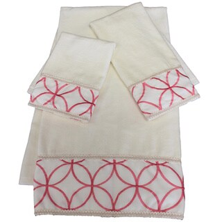Sherry Kline Romance Embellished 3-piece Towel Set