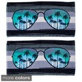 Sunglasses Design Beach Towel (Set of 2)