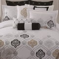 Claibourne 10-piece Embroidered Comforter Set