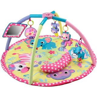 Infantino Baby Girl Animals Twist & Fold Activity Gym and Play Mat