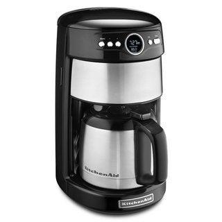 KitchenAid KCM1203OB Onyx Black 12-cup Thermal Carafe Coffee Maker