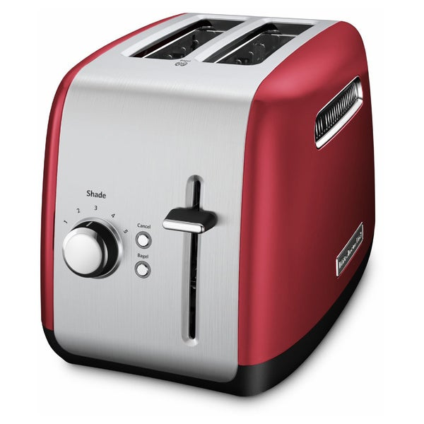 KitchenAid KMT2115ER Red 2 Slice Metal Toaster