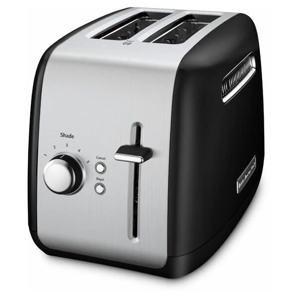 KitchenAid KMT2115OB Oynx Black 2 Slice Metal Toaster