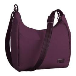 Women's Pacsafe Citysafe 100 GII Travel Handbag Plum