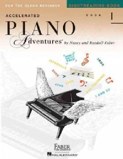 Accelerated Piano Adventures Sightreading Book 1: For the Older Beginner (Paperback)