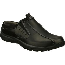 Men's Skechers Relaxed Fit Superior Kane Black