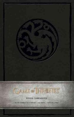 Game of Thrones - House Targaryen Large Ruled Journal (Notebook / blank book)